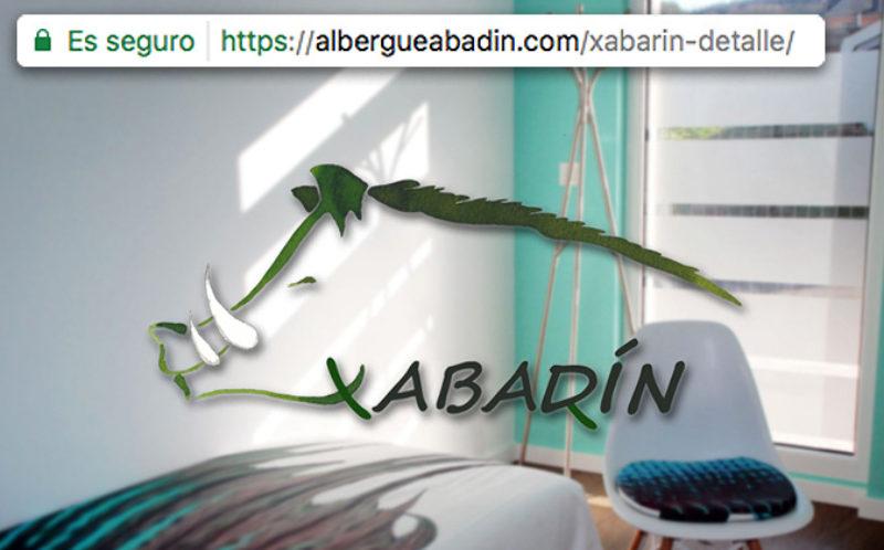 Diseño Web y SEO A Coruña - Albergue Xabarín (Abadín, Lugo)