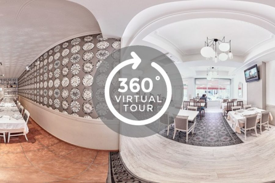 Visita virtual Google Street View, restaurante A Coruña