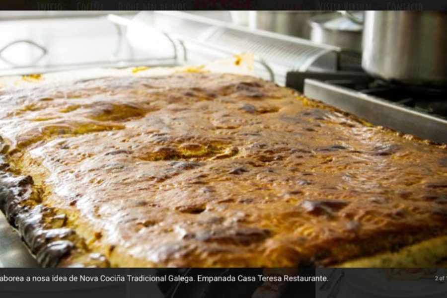 Trabajos Andres Jarel diseño web Casa Teresa Restaurante