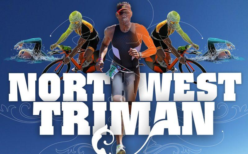 diseño gráfico cartel Northwest Triman 2018 - Andrés Jarel