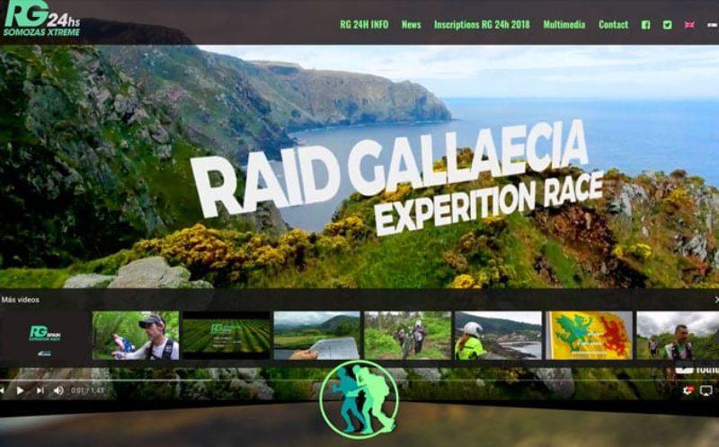 Último trabajo como diseñador web en el estudio de Coruña.
