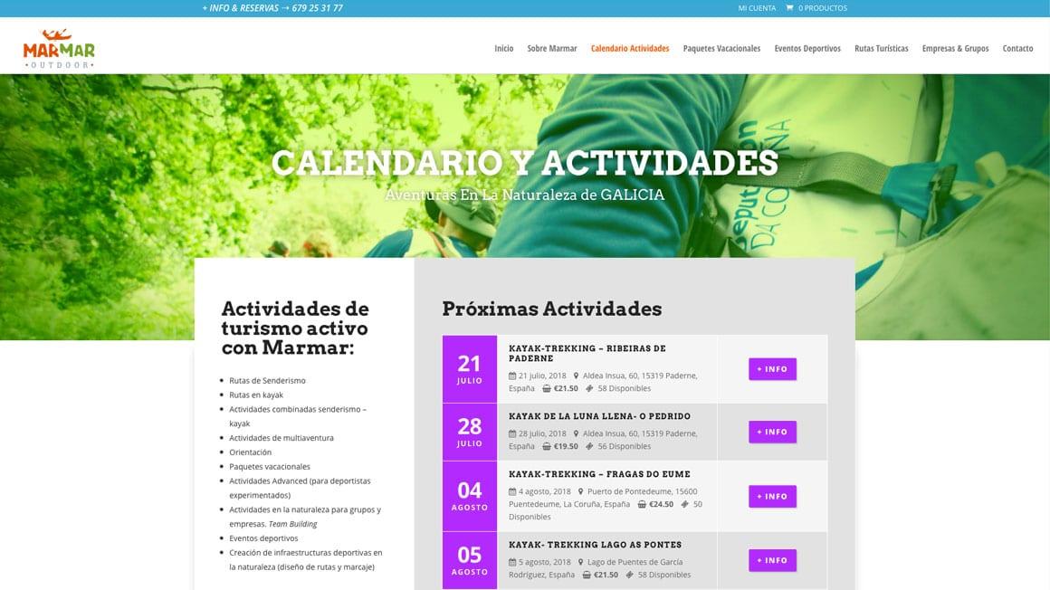 Paquetes vacacionales en la naturaleza de Galicia