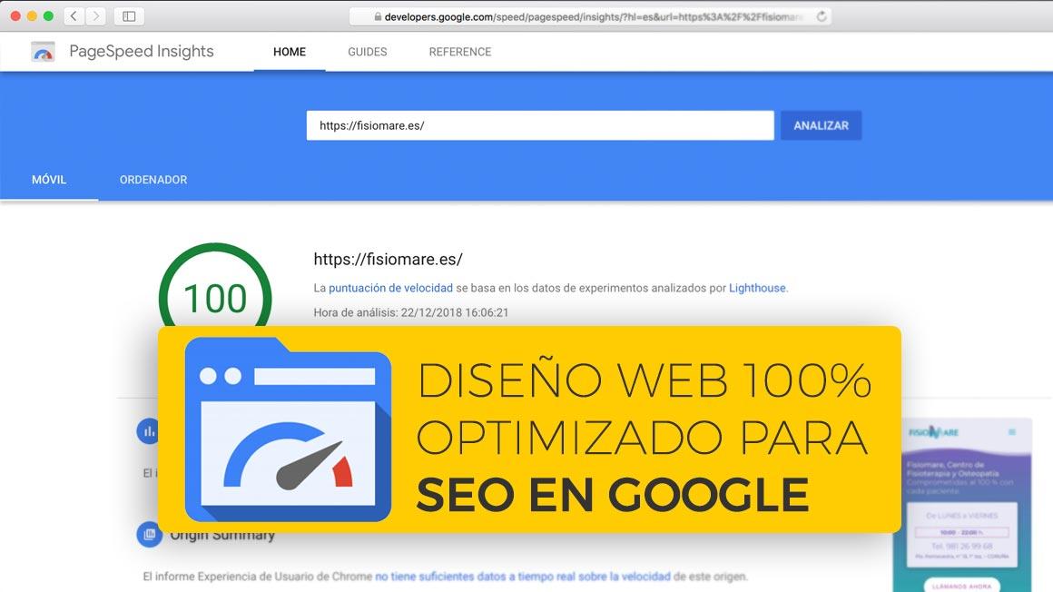 Optimizacion de contenido y diseño web para SEO Local en Coruña.
