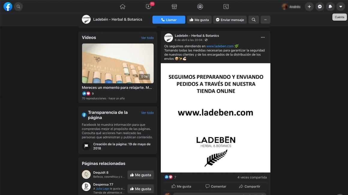 Diseño web Coruña. Diseño de tienda online.